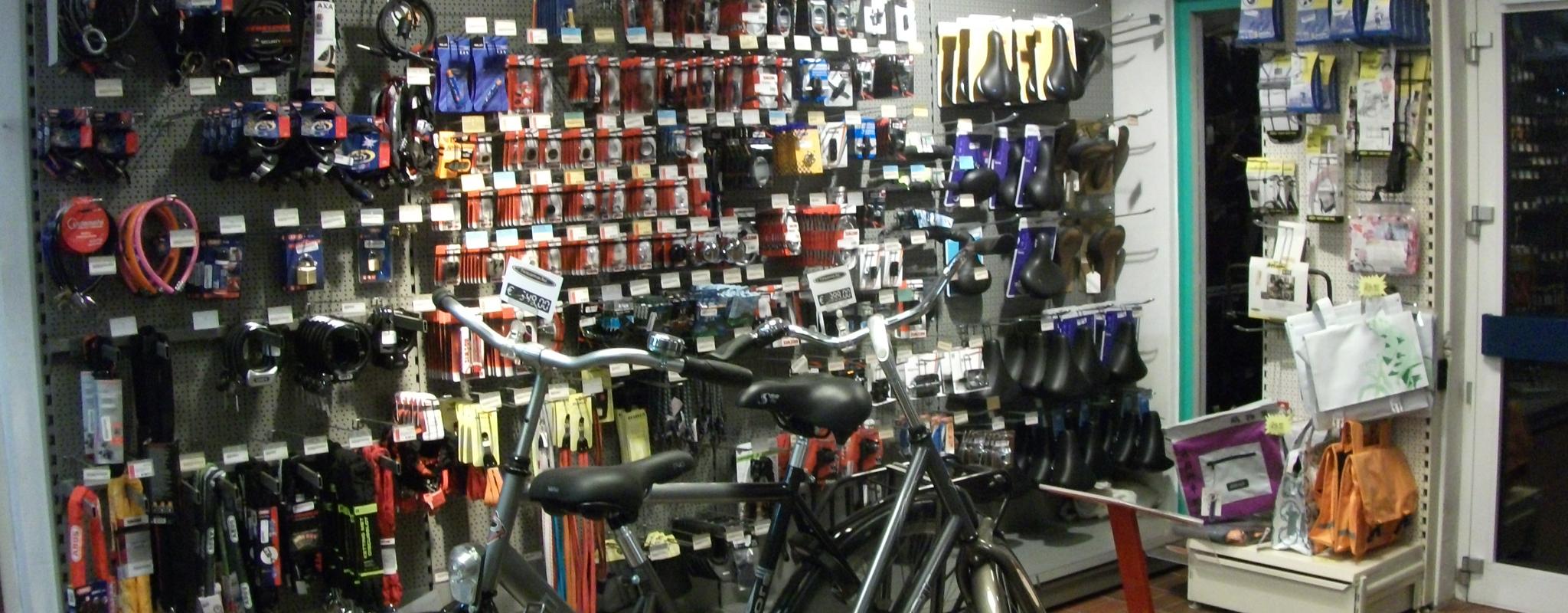 Ook voor al uw fietsproducten